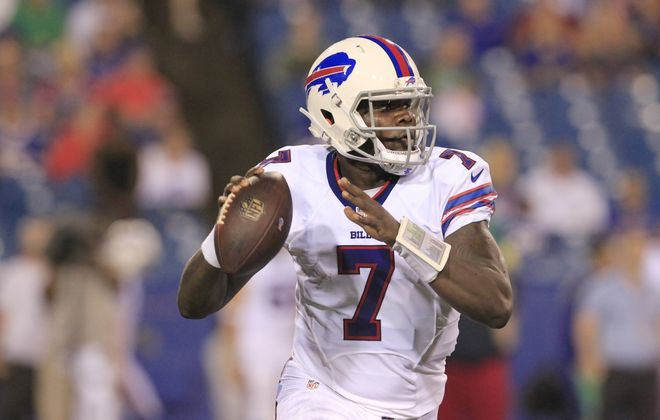 Cardale Jones spent 2016 with the Bills. (Harry Scull Jr./News file photo)