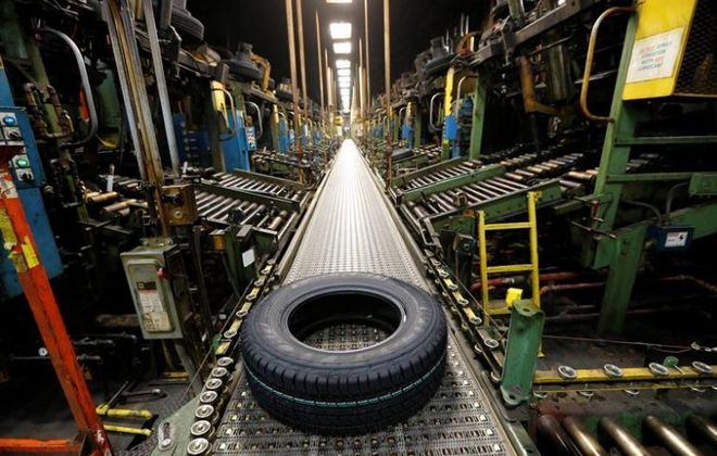 Sumitomo Rubber USA is extending the shutdown of its Tonawanda tire plant by one week. (News file photo)
