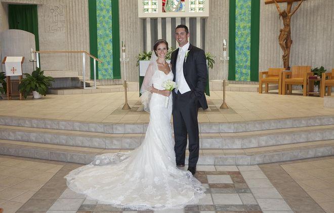 Laura Schubbe and Matt Terreri are wed in Elma
