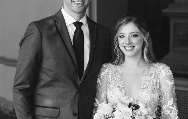 Jake A. Renner and Staci L. Weixlmann wed at the Statler