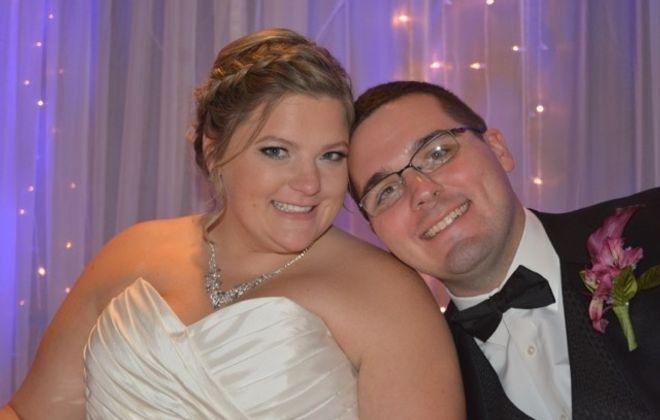 Katherine J. Gibbs and Andrew J. Murphy marry in Lockport