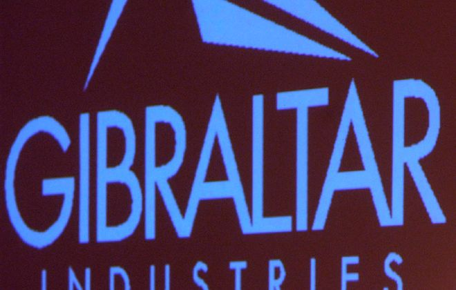 Gibraltar Industries, a building products manufacturer, is based in Hamburg. (News file photo)