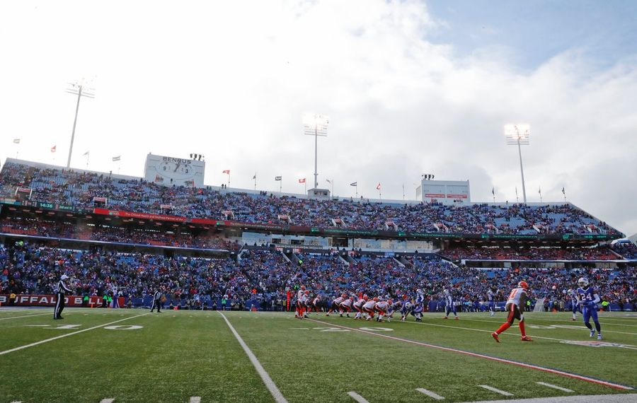 The Bills beat the Browns at New Era Field in an NFL game on Sunday, Dec. 18, 2016. (Harry Scull Jr./Buffalo News)