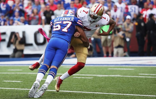 Bills linebacker Lorenzo Alexander. (Getty Images)