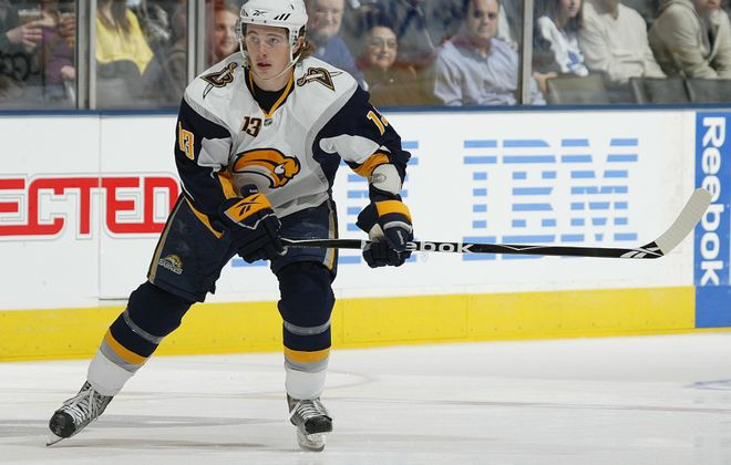 Tim Kennedy previously played in the Sabres' organization from 2008 to 2010. (Getty Images)