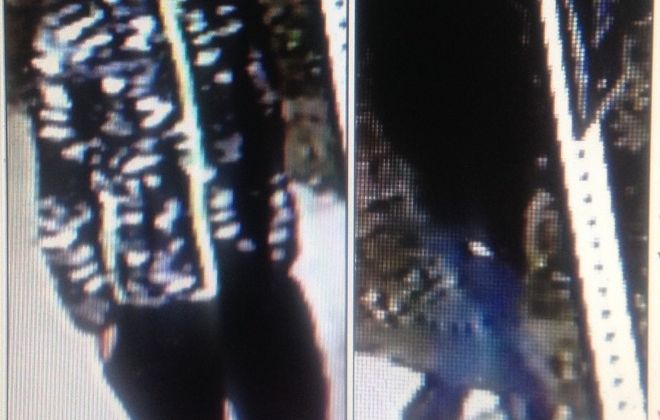 Buffalo police released these images Friday of two men suspected of robbing a woman near UB's South Campus on Nov. 21. The  man on the left matches the description of the assailant who stabbed a UB student Thursday. (Provided by Buffalo Police Department)