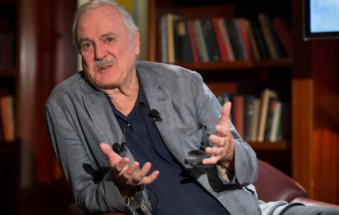John Cleese will speak at the University at Buffalo Center for the Arts. (Getty Images)