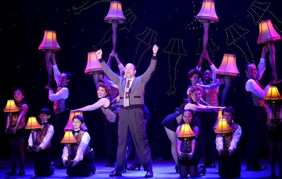 "Christopher Swan stars as the Old Man in a touring production of ""A Christmas Story: The Musical."""