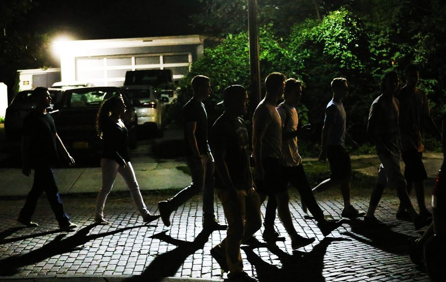 """A recent UB study concluded that """"drinking contexts"""" — where college men drink — can serve as an indicator for the likelihood of sexual assault to take place. (Sharon Cantillon/News file photo)"""