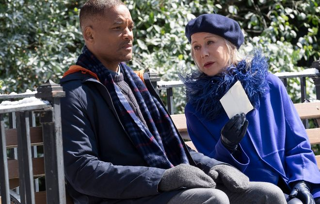 """Will Smith and Helen Mirren star in """"Collateral Beauty."""""""