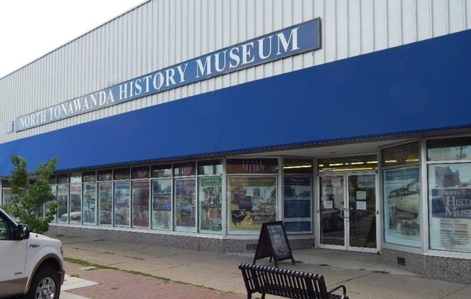 The former North Tonawanda History Museum, at 54 Webster St. (Buffalo News file photo)