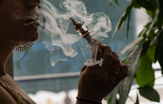 Buffalo's new Green Code would where vaping lounges and hookah bars can locate and where beer and cigarettes can be sold. (Timothy Fadek/Bloomberg)
