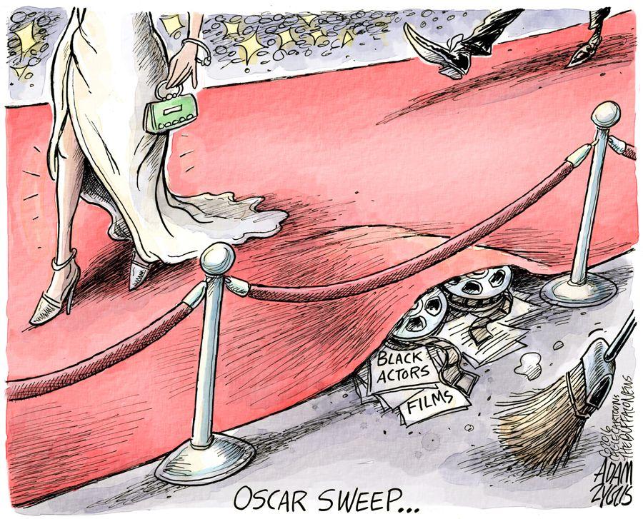 The white carpet