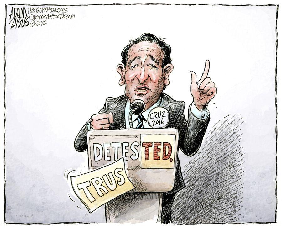 Cruz likability problem
