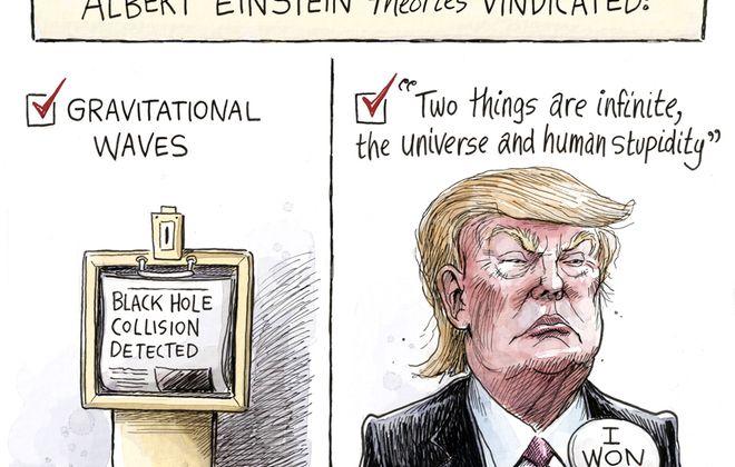 Einstein vindicated