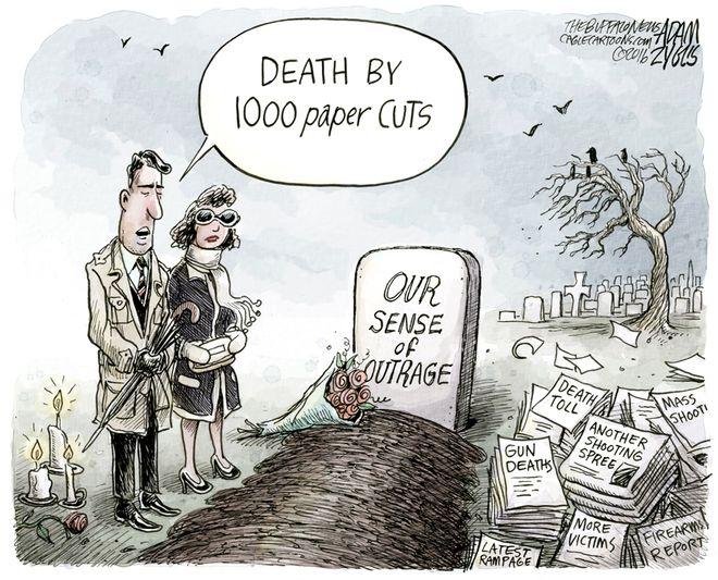 Mass shooting apathy