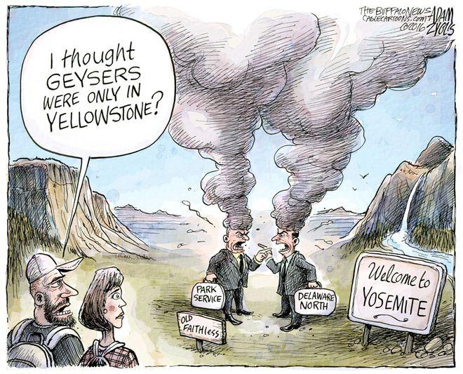 Yosemite dispute