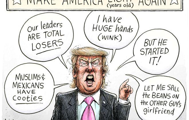 Trump trash talk