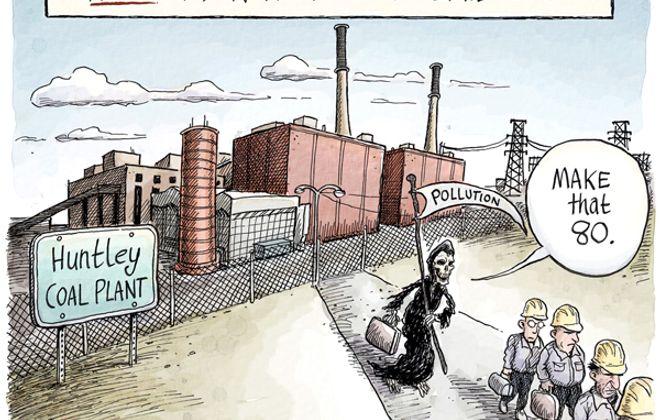 Huntley coal