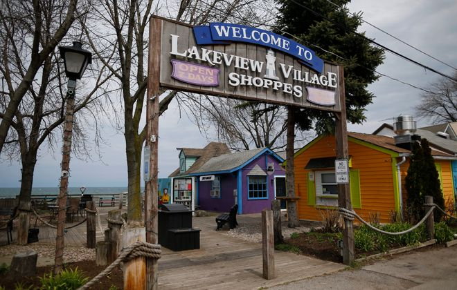 Lakeview Village Shoppes in Olcott Beach. (News file photo)