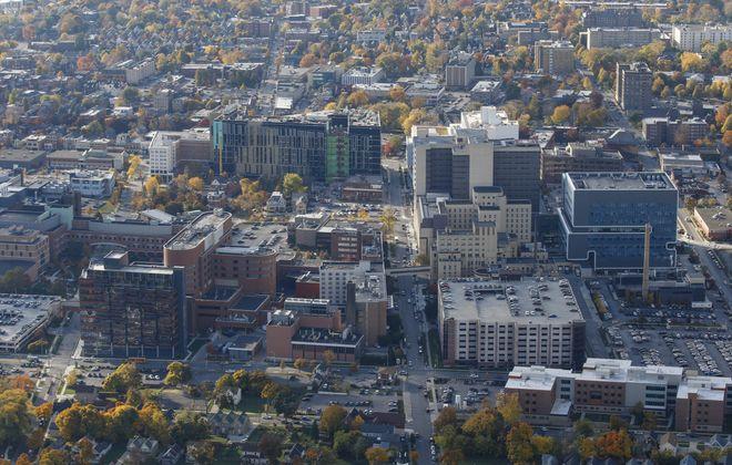 The Buffalo Niagara Medical Campus. (Derek Gee/Buffalo News file photo)