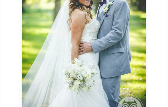 Ashley Davies and Joshua Sarratori married in Wheatfield