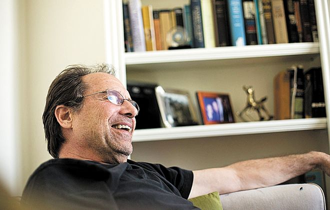David Milch at his office in Santa Monica, Calif., in 2016. (Buffalo News / Jenna Schoenefeld file photo)
