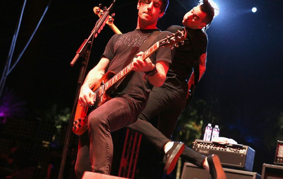 Anti-Flag will perform at Warped Tour 2017 at Darien Lake. (Getty Images)