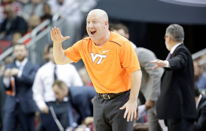 Virginia Tech coach Buzz Williams has a friend on the Bills' coaching staff. (Getty Images)