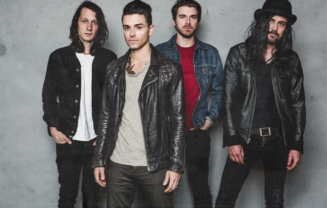 Dashboard Confessional will perform at Kerfuffle 2017.