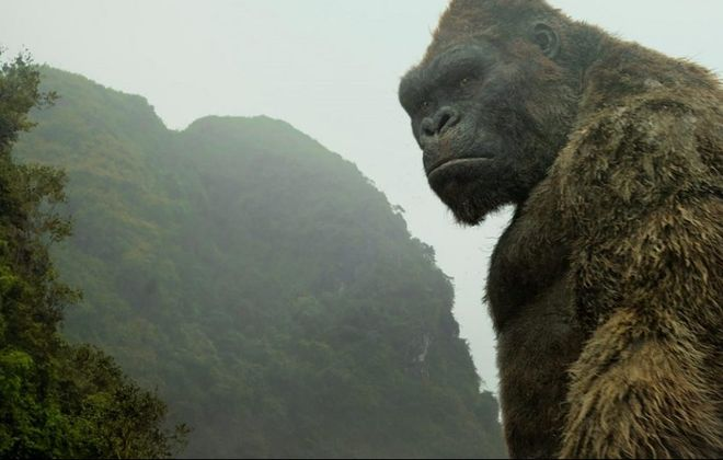 "King Kong returns in ""Kong: Skull Island."""