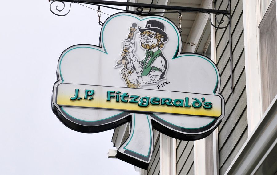 Hamburg's J.P. Fitzgerald's combines premium sports bar atmosphere with its longtime pub allure.