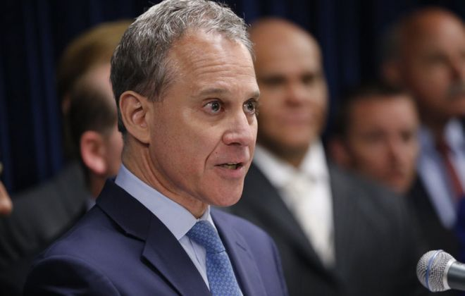 Four women have made accusations of abuse against state Attorney General Eric T. Schneiderman. (Derek Gee/News file photo)