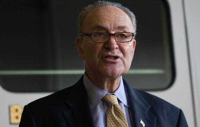 Senate Minority Leader. Charles E. Schumer  (Derek Gee/News file photo)