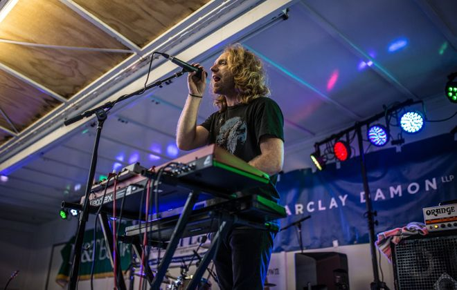 """The Tins' Michael Santillo performs at Picnic in the Parkway, in the Elmwood Village, in 2015. His band is in this week's """"3 can't-miss shows."""" (Chuck Alaimo/Special to The News)"""
