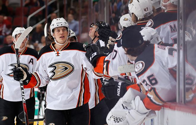 The Ducks have giving it up all year to Richard Rakell, who has a team-high 32 goals (Getty Images)..