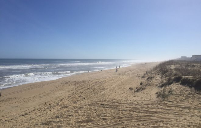 The Outer Banks can be beautiful, unless where you really want to be is Walmart
