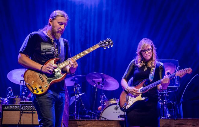 Derek Trucks (left) and his wife Susan Tedeschi have released a career-defining new documentary film and live album. (Photo by Stuart Levine.)