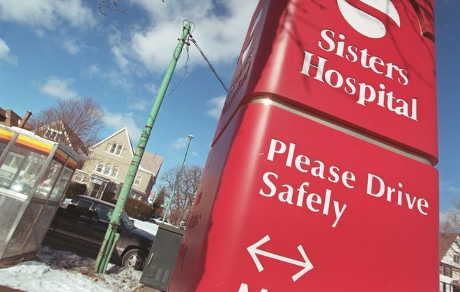 Ten residents at St. Catherine Labouré Health Care Center, a long-term care facility at Sisters Hospital, have tested positive for Covid-19. (Buffalo News file photo)
