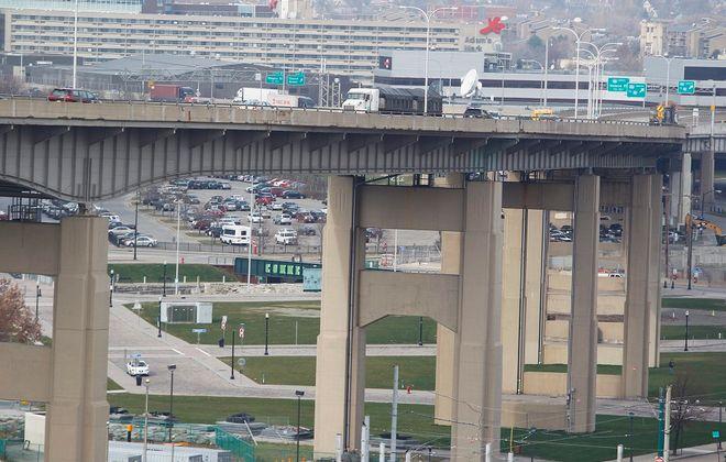The Skyway in downtown Buffalo. (Mark Mulville/Buffalo News file photo)