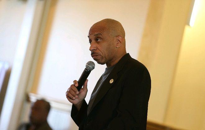 Rev. Darius Pridgen was re-elected president of the Buffalo Common Council. (Buffalo News file photo)