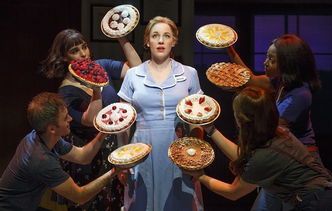"""""""Waitress,"""" a Broadway hit adapted from a low-budget 2007 film shown here in its Broadway version, comes to Shea's in February 2018."""