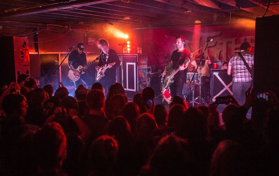 Florida rock band We the Kings performed in Waiting Room in March. The club has closed after four years. (Chuck Alaimo/Special to The News)