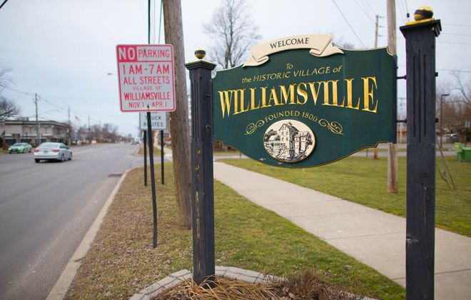 The Village of Williamsville is updating its sign code to make the rules easier to decipher. (Derek Gee/News file photo)