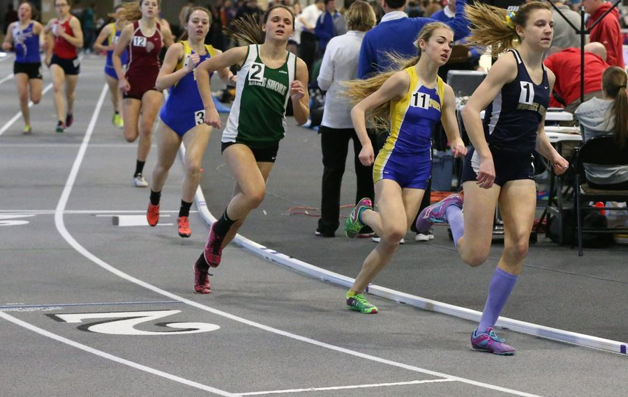 Area track coaches yearn for a facility comparable to the Kerr-Pegula Athletic Complex at Houghton College. (James P. McCoy/Buffalo News)