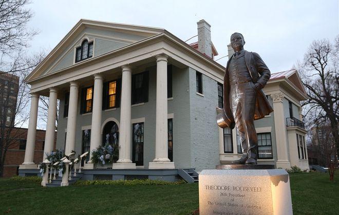The Theodore Roosevelt Inaugural Site on Delaware Avenue. (Sharon Cantillon/News file photo)