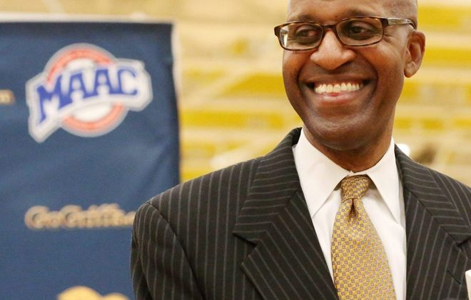 Reggie Witherspoon  is the Canisius College men's basketball coach. (James P. McCoy/Buffalo News file photo)