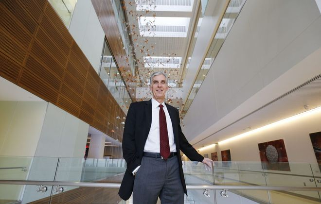 "Dr. Timothy Murphy, director of UB's Clinical and Translational Institute, says there is ""a lot of  expertise in Buffalo, but it is not coordinated."" The center's goal is to enhance the quality of research locally. (Mark Mulville/Buffalo News)"