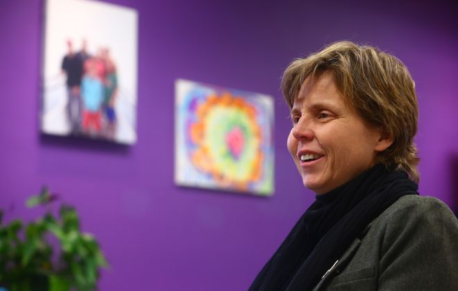 Michelle Casey was named CEO of Planned Parenthood of Central and Western New York last year. (John Hickey/Buffalo News)