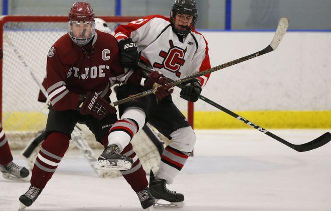 The Federation boys hockey playoffs begin this week. (Harry Scull Jr./Buffalo News)